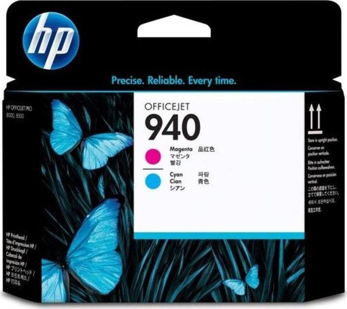 Печатающая головка HP 940 (C9391AE), пурпурный, голубой печатающая головка в сборе для принтеров rio pro enduro