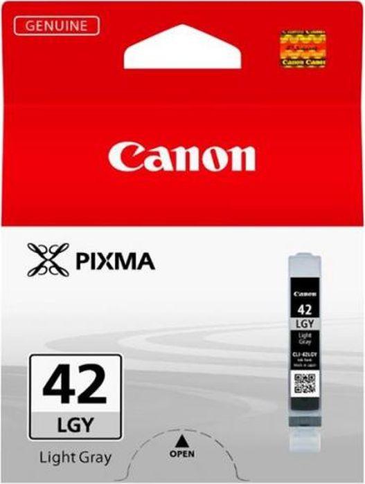 Фото - Картридж Canon CLI-42LGY, светло-серый, для струйного принтера, оригинал meike fc 100 for nikon canon fc 100 macro ring flash light nikon d7100 d7000 d5200 d5100 d5000 d3200 d310