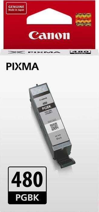 Картридж струйный Canon PGI-480 PGBK 2077C001 для Canon Pixma TS6140/TS8140TS/TS9140/TR7540/TR8540, Black картридж canon cli 481 для canon pixma ts6140 ts8140ts ts9140 tr7540 tr8540 1010558 голубой