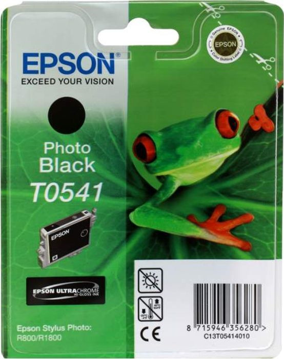 Картридж Epson T0541 (C13T05414010), черный фото цена