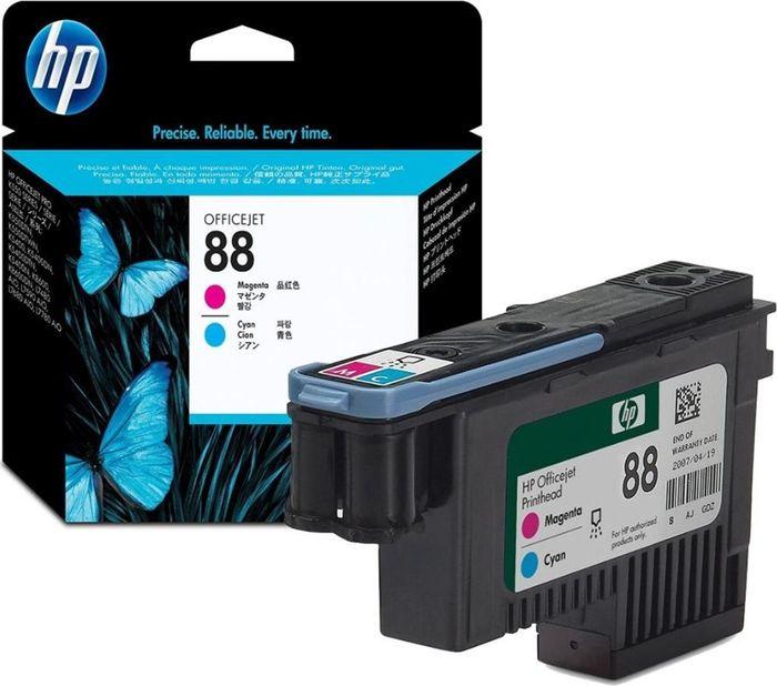 Печатающая головка HP 88 (C4901A), пурпурный, голубой печатающая головка в сборе для принтеров rio pro enduro