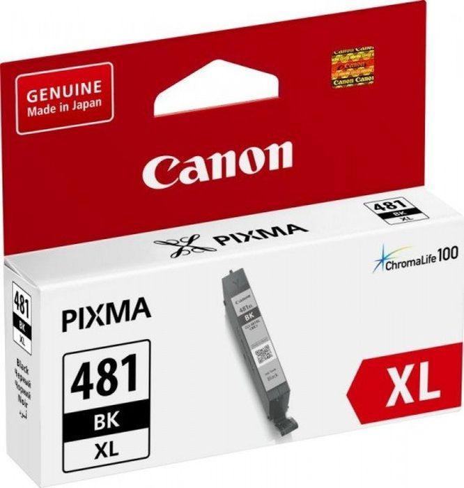 Картридж струйный Canon CLI-481XL BK 2047C001 черный для Canon Pixma TS6140/TS8140TS/TS9140/TR7540/TR8540 картридж canon cli 481 для canon pixma ts6140 ts8140ts ts9140 tr7540 tr8540 1010557 black