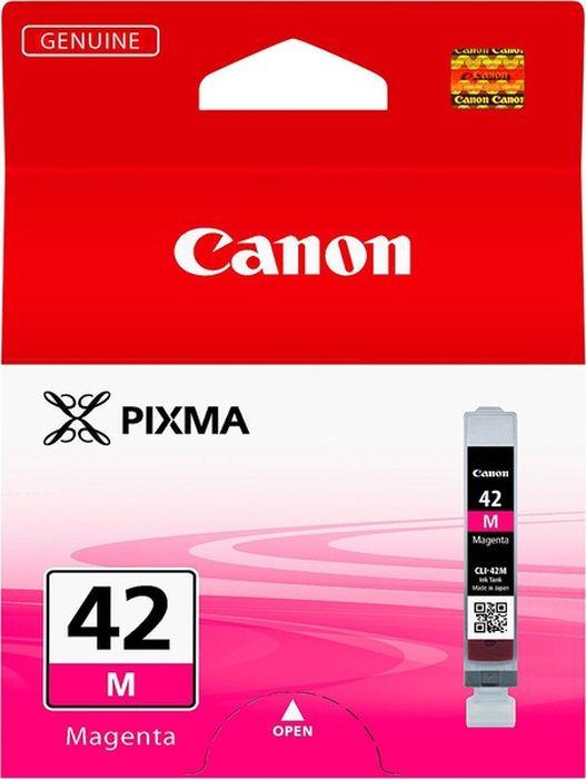 Фото - Картридж Canon CLI-42M для Canon PRO-100, 806126, Magenta meike fc 100 for nikon canon fc 100 macro ring flash light nikon d7100 d7000 d5200 d5100 d5000 d3200 d310