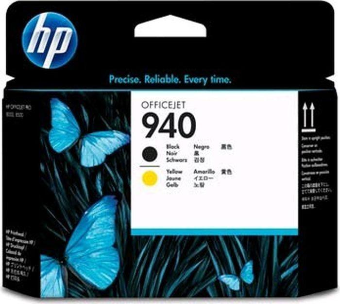 Картридж струйный HP 940 C4900A для HP OfficeJet Pro 8000/8500/8500a, Black, Yellow