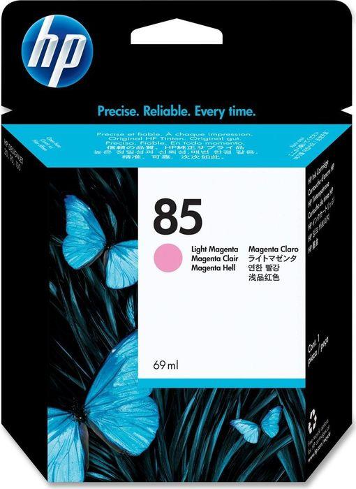 Картридж HP 85, светло-пурпурный, для струйного принтера, оригинал цена в Москве и Питере