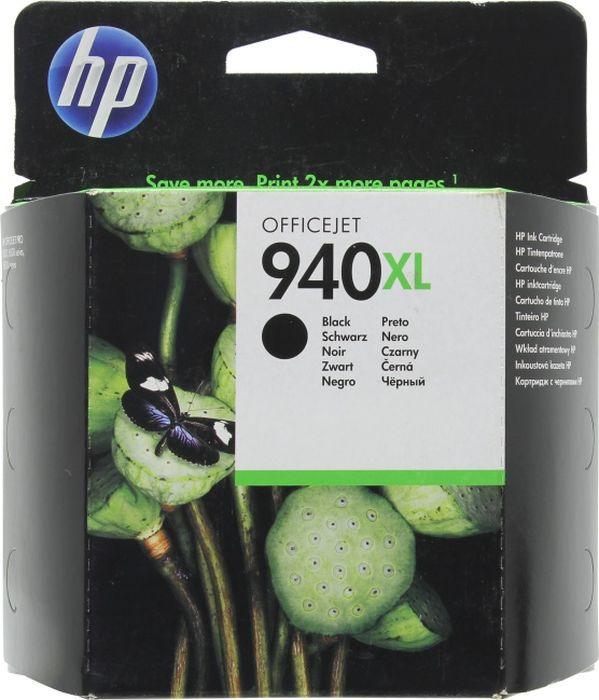Картридж HP 940XL, черный, для струйного принтера, оригинал цены