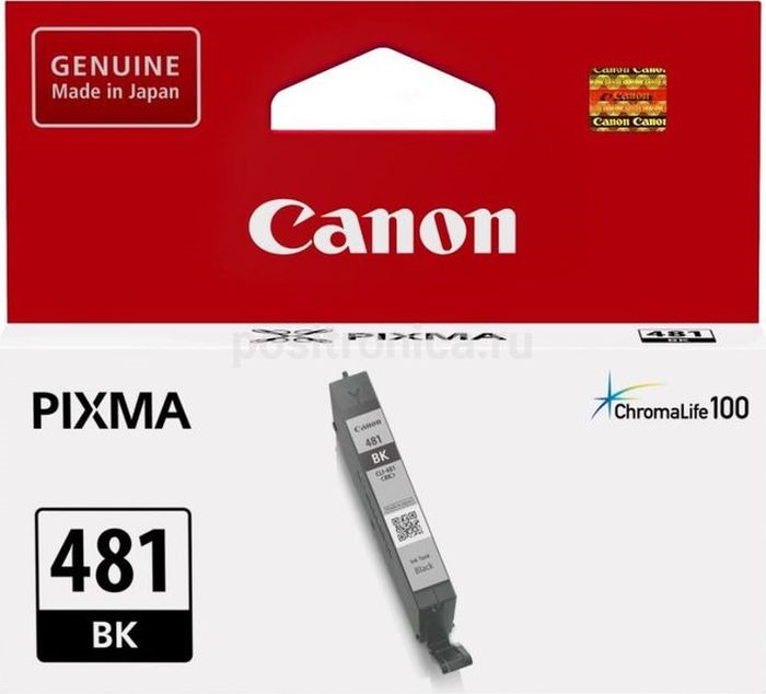 Картридж Canon CLI-481 для Canon Pixma TS6140/TS8140TS/TS9140/TR7540/TR8540, 1010557, Black картридж canon cli 481 для canon pixma ts6140 ts8140ts ts9140 tr7540 tr8540 1010557 black