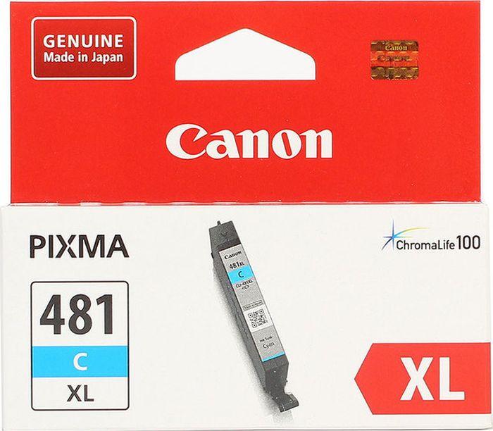 Картридж Canon CLI-481XL для Canon Pixma TS6140/TS8140TS/TS9140/TR7540/TR8540, 1010547, голубой картридж canon cli 481xl m пурпурный [2045c001]
