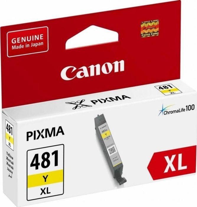 Картридж Canon CLI-481XL для Canon Pixma TS6140/TS8140TS/TS9140/TR7540/TR8540, 1010550, Yellow картридж canon cli 481xl m пурпурный [2045c001]