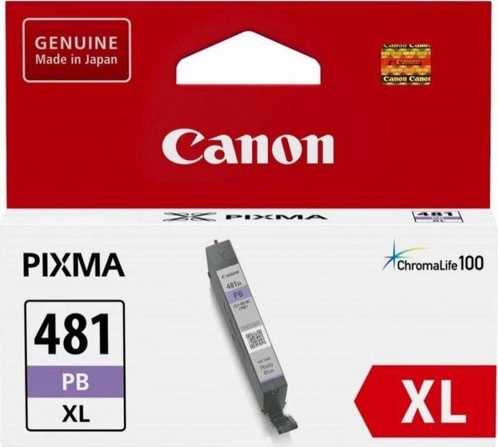 Картридж Canon CLI-481XL для Canon PixmaTS8140TS/TS9140, 1010568, голубой canon