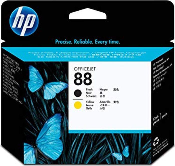 Печатающая головка HP 88 (C2P19AE), черный, желтый печатающая головка в сборе для принтеров rio pro enduro
