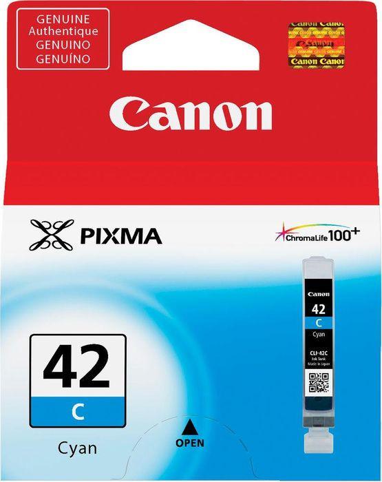 Фото - Картридж Canon CLI-42C для Canon PRO-100, 806123, Cyan meike fc 100 for nikon canon fc 100 macro ring flash light nikon d7100 d7000 d5200 d5100 d5000 d3200 d310