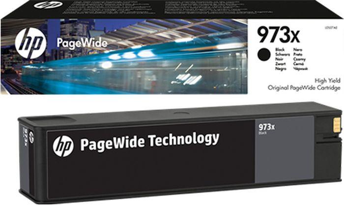 Картридж HP L0S07AE 973X, черный, для струйного принтера, оригинал