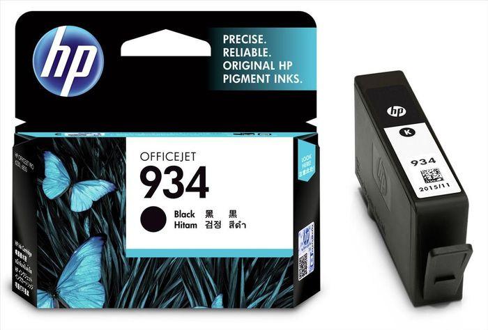 Картридж струйный HP 934 C2P19AE для HP OfficeJet Pro 6830, Black цены
