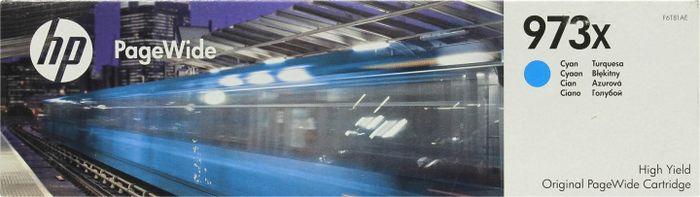 Картридж HP 973X, голубой, для струйного принтера, оригинал цена в Москве и Питере