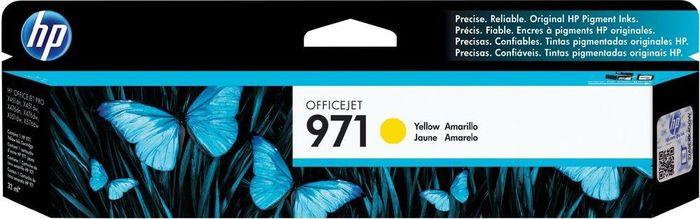 Картридж HP 971 (CN624AE), желтый цена и фото