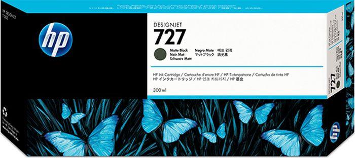 Картридж HP 727 (C1Q12A), черный матовый цена 2017