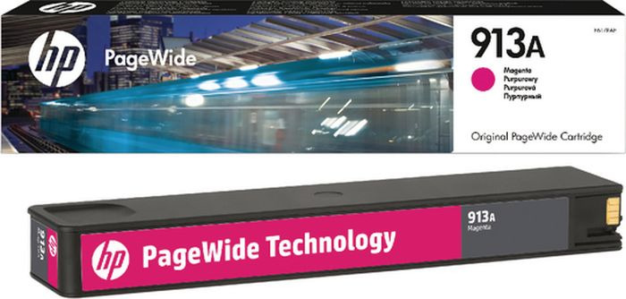 Картридж HP 913A, пурпурный, для струйного принтера, оригинал цены онлайн