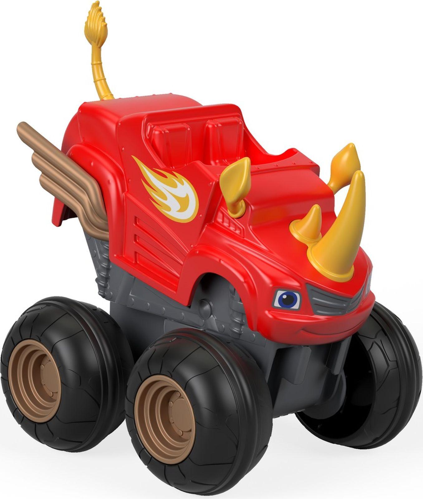 Машинка Blaze Гоночный внедорожник Вспыш, CGK22_FHV04 blaze машинка огурчик dtk29