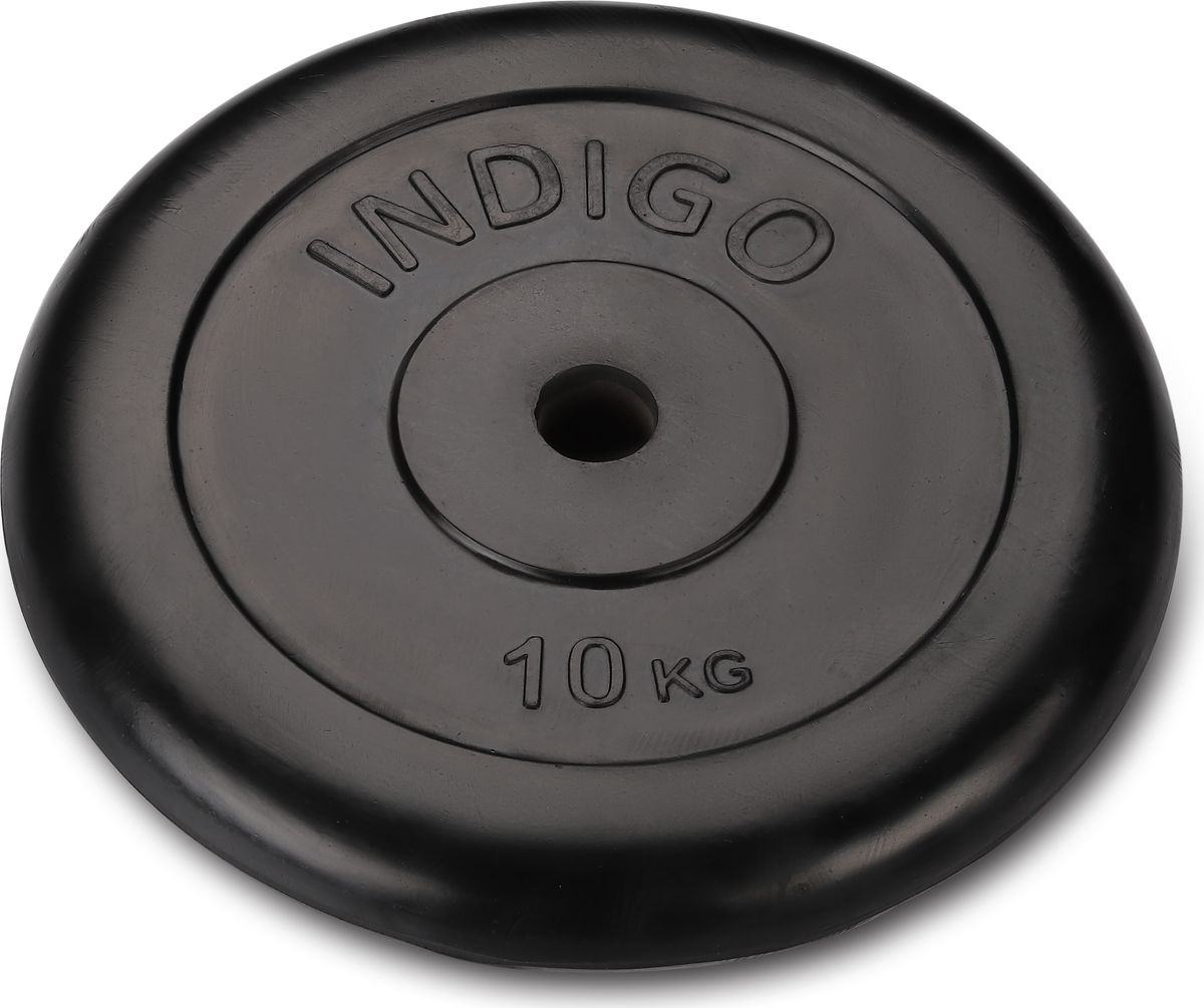 Диск Indigo IN040, 00027646, черный, 10 кг
