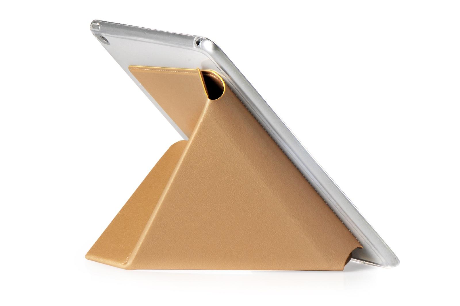 Чехол для планшета Gurdini Чехол книжка iPad mini 4 Gurdini Lights Series, 410335, золотой