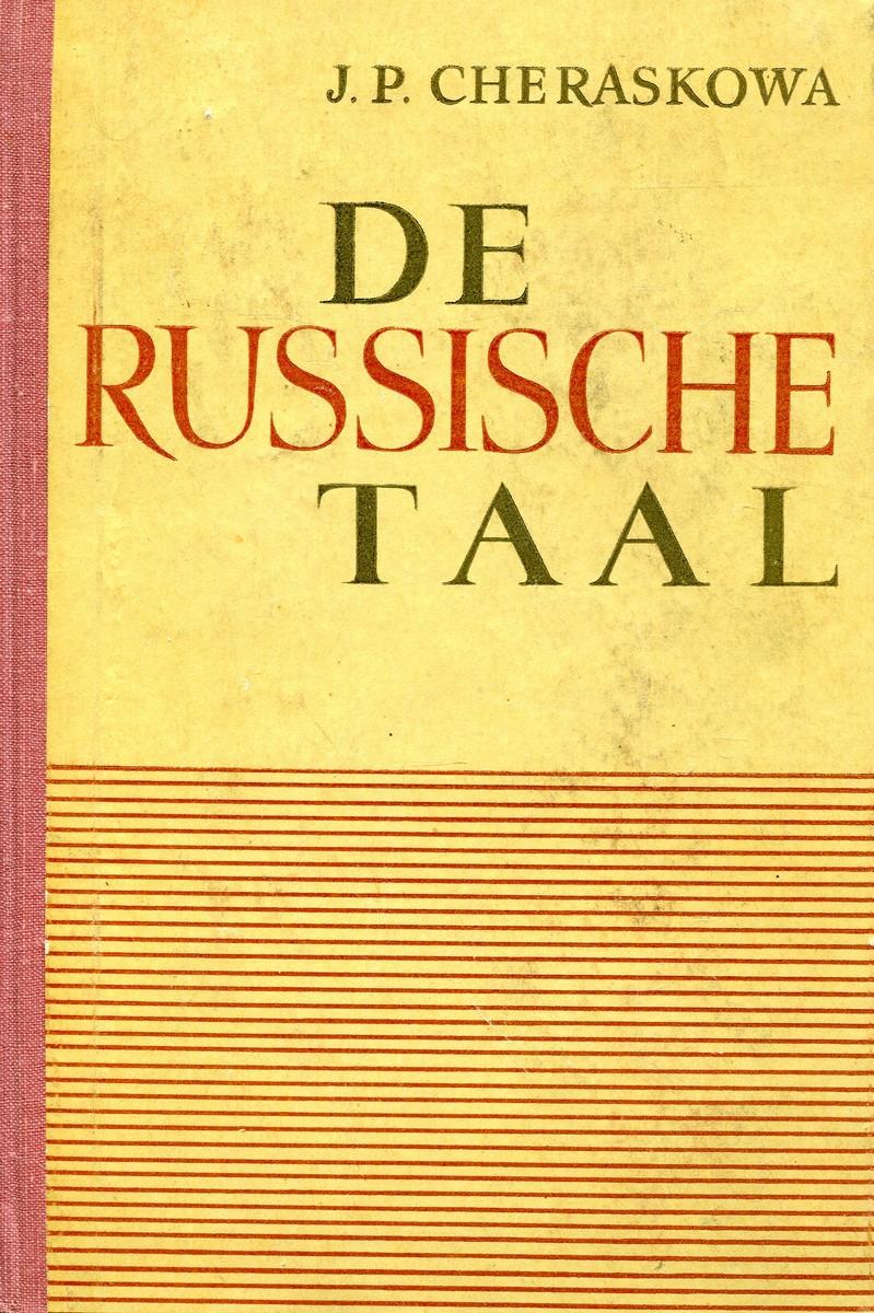 De Russische Taal de russische taal