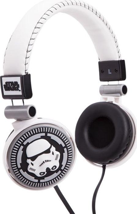 цена на Наушники накладные Jazwares Star Wars Storm Trooper, 1CSC20002086, белый, черный