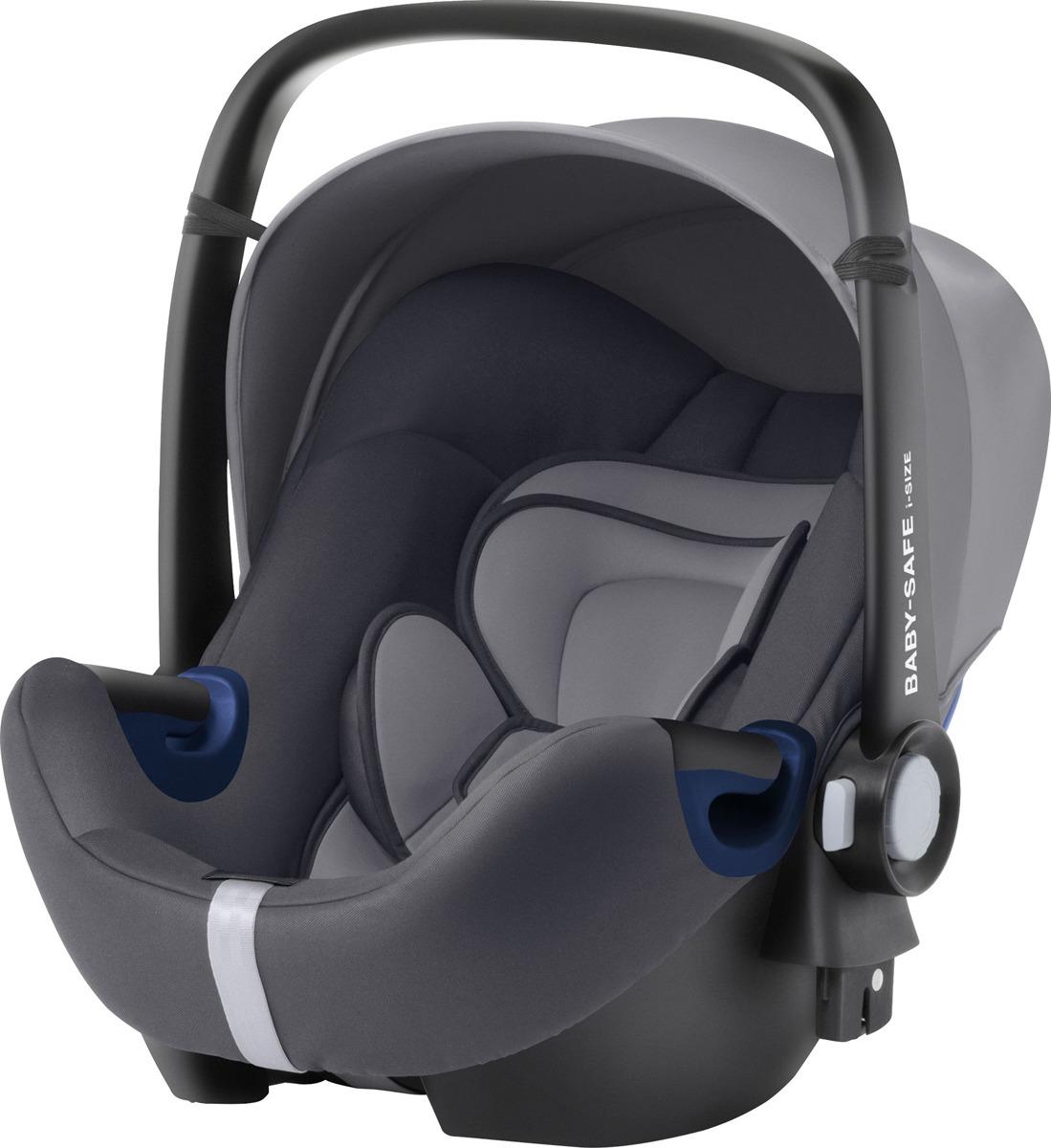 Автокресло детское Britax Roemer Baby-Safe2 i-size Storm Grey Trendline, до 13 кг детское автокресло baby safe2 i size coral peach trendline
