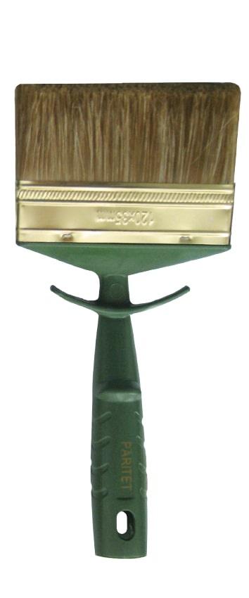 Кисть малярная Paritet Instrument Premium plastic handle mixed 120мм вилка амортизационная suntour гидравлическая для велосипедов 26 ход 100 120мм sf14 xcr32 rl 26
