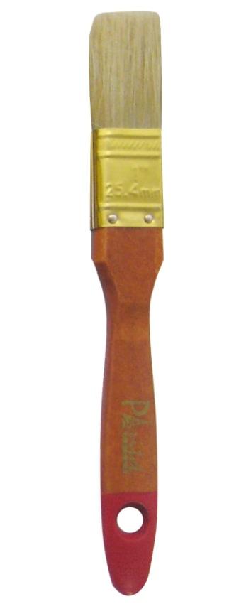 Кисть малярная Paritet Instrument ПРЕМИУМ дер/нат 25мм плоская кисть с натуральной щетиной krafor профи 1 25мм пластиковая ручка 005 0010 49217