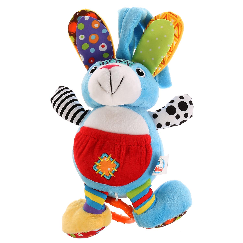 Развивающая игрушка Умка Зайчик, музыкальная, заводная, 259064 lamaze музыкальная игра лев логан звук мелодия lamaze