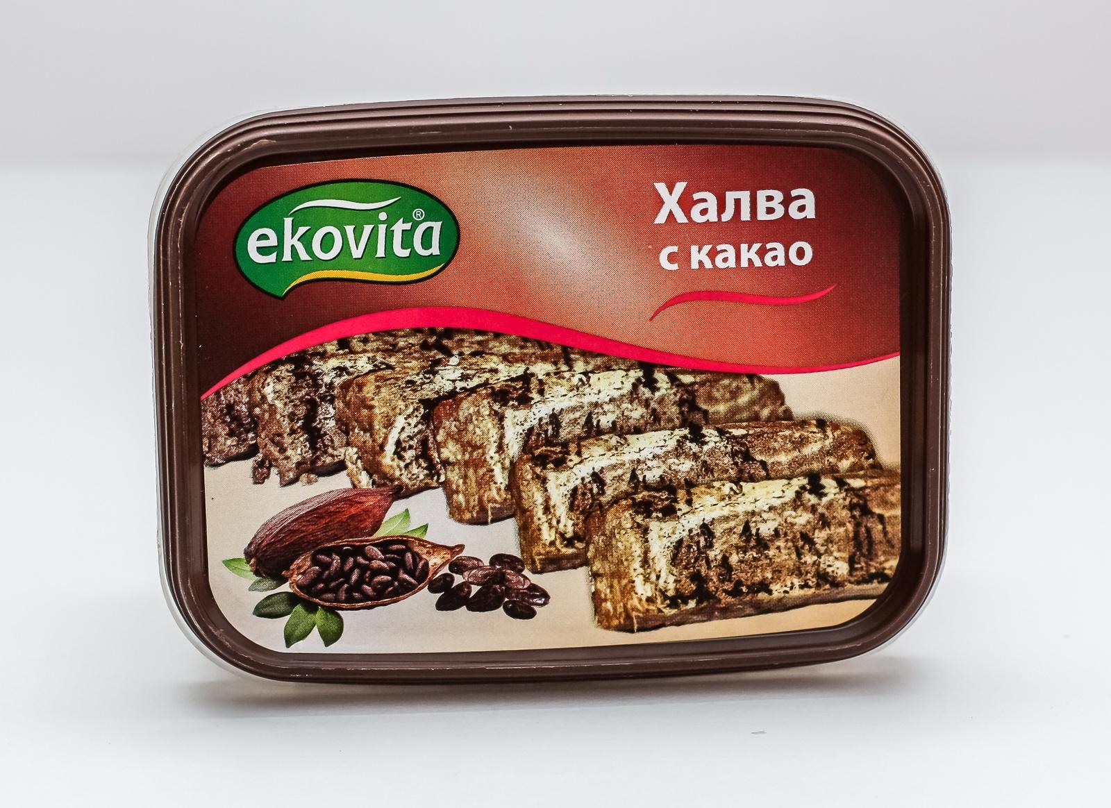 Халва кунжутная с какао 250 гр
