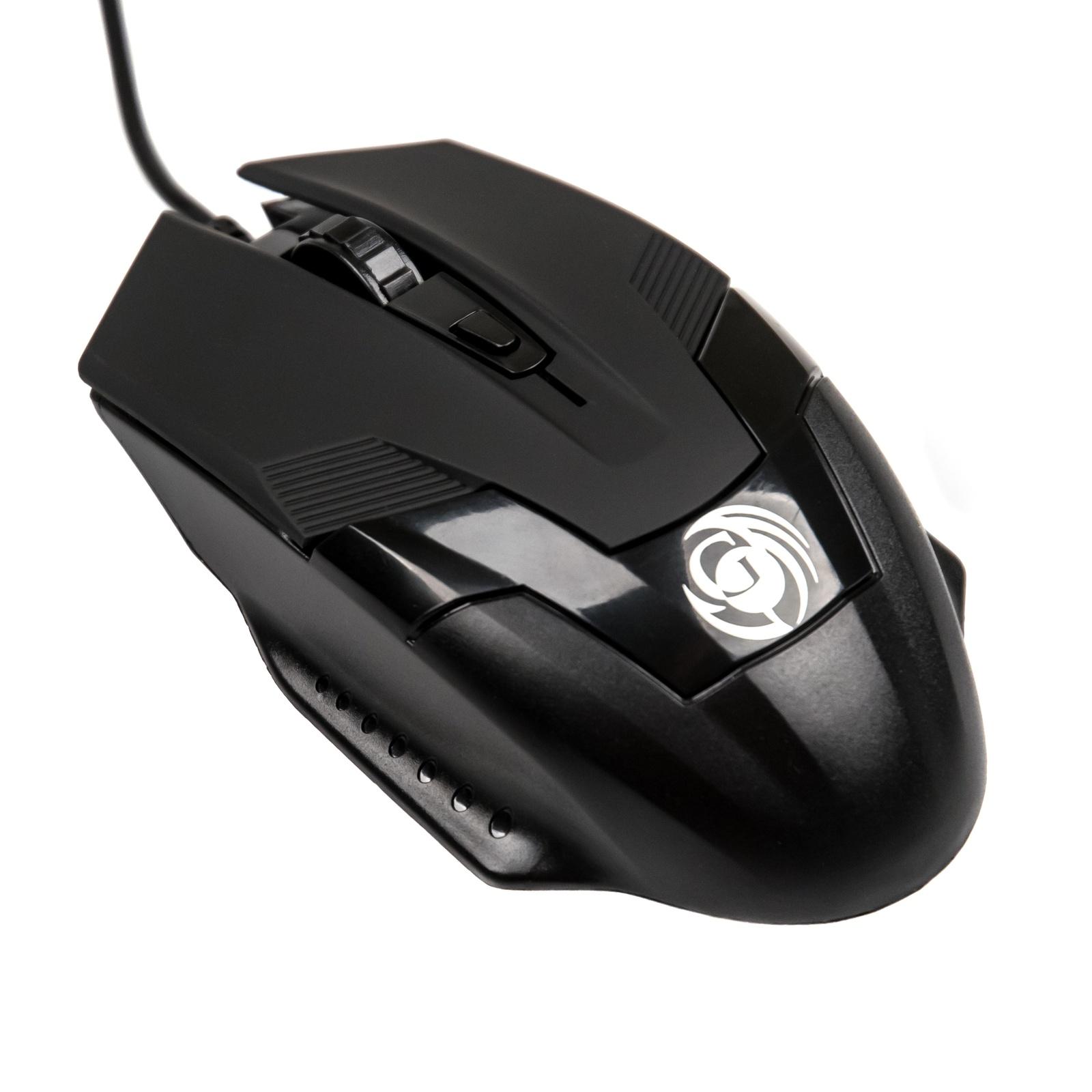 лучшая цена Игровая мышь DIALOG Gan-Kata MGK-06U, USB, игровая, USB 4 кнопки+ролик, черный