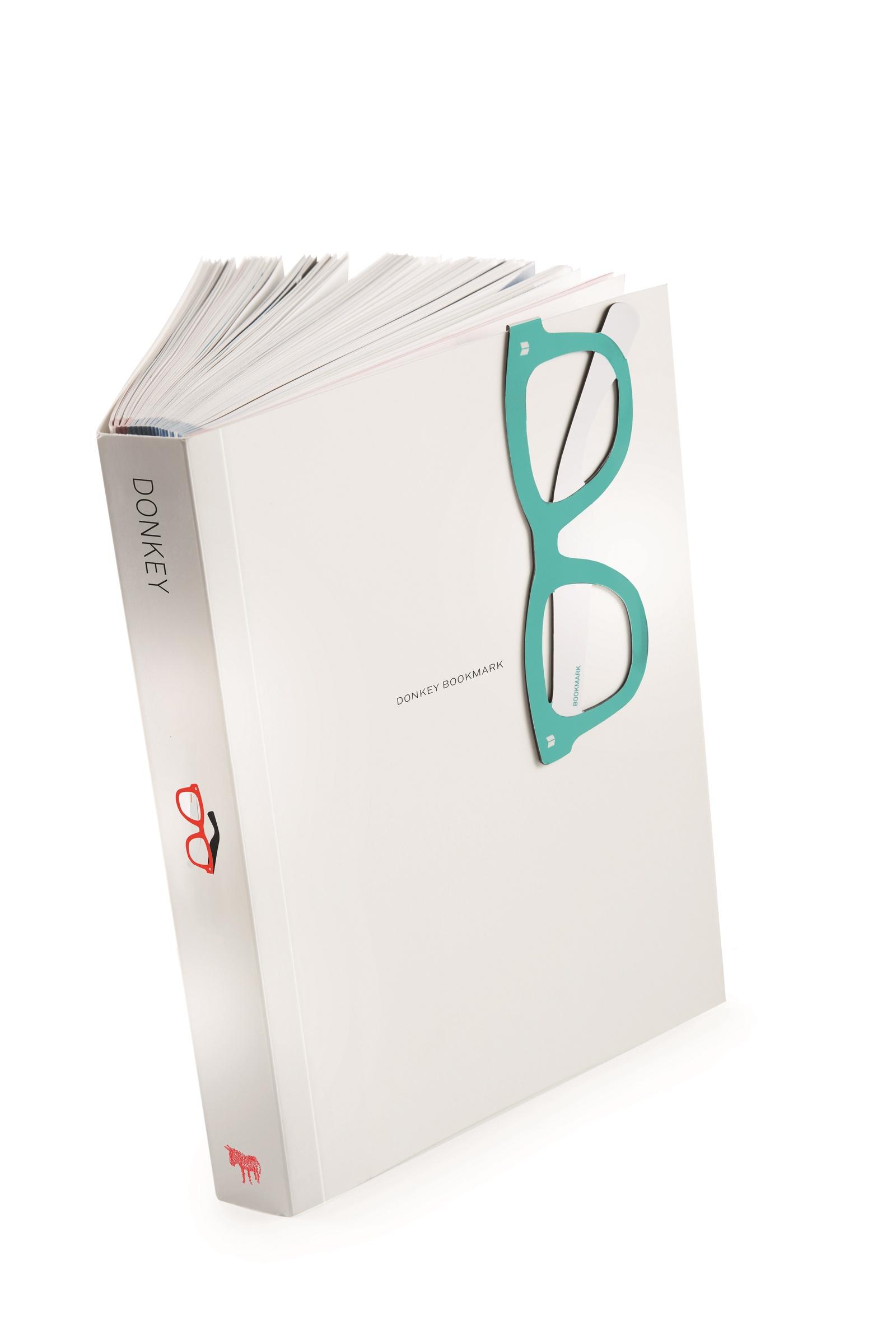Закладка Donkey Reading glasses, DO400723, 1х4,5х12,5 см sys0076 3 0 diopter reading presbyopic glasses black