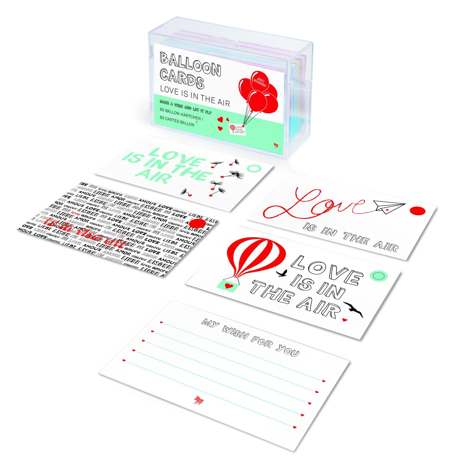 Набор открыток Balloon Cards, BM108, 80 шт