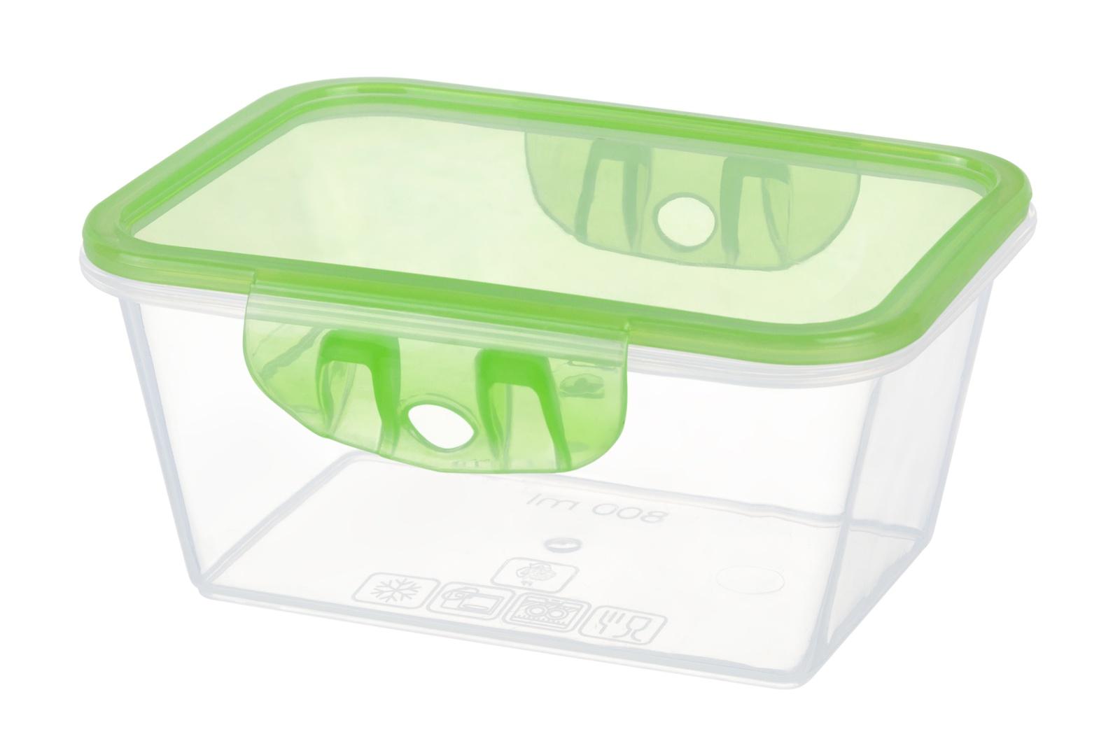 Контейнер пищевой Violet герметичный, Полипропилен контейнер пищевой elff decor цвет зеленый 800 мл