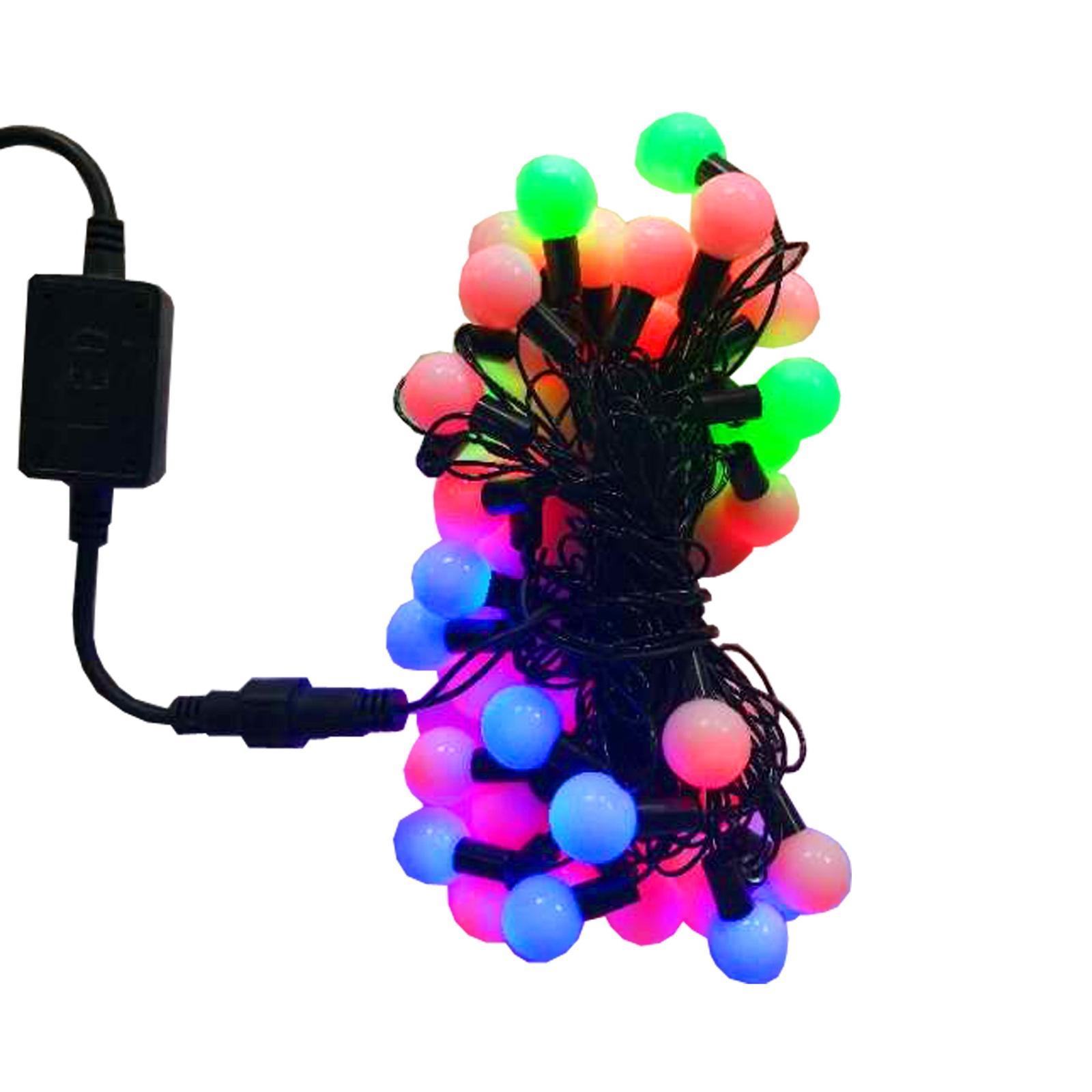 Гирлянда APEYRON electrics Двухцветная, 15-40 электрическая гирлянда светодиодная apeyron бумажная 10ламп теплый белый 1 5м