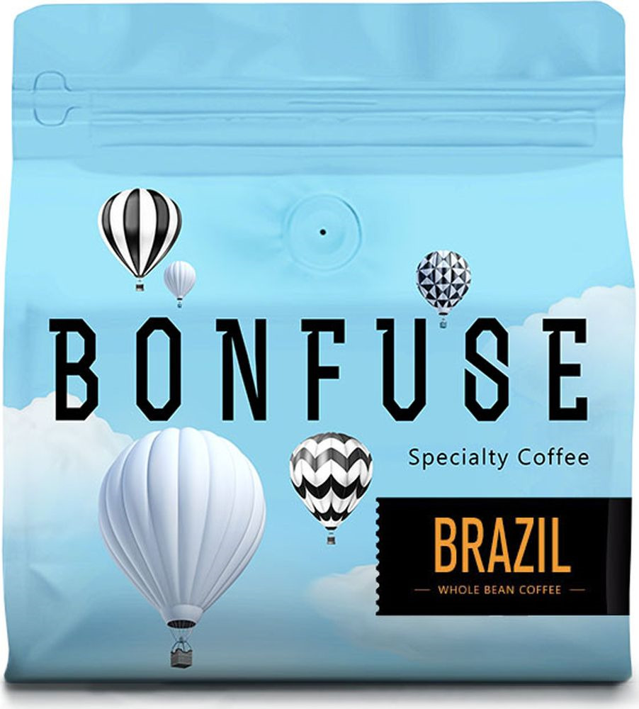 Фото - Кофе в зернах Bonfuse Brazil, 250 г meike fc 100 for nikon canon fc 100 macro ring flash light nikon d7100 d7000 d5200 d5100 d5000 d3200 d310