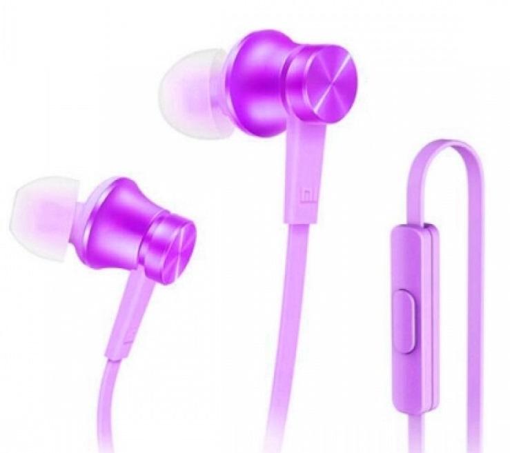Стерео-наушники Xiaomi (Mi) Piston Fresh Bloom фиолетовые наушники для мобильных телефонов xiaomi 2 2 ii mi3 mi4 xiaomi hongmi xiaomi piston earphone 2