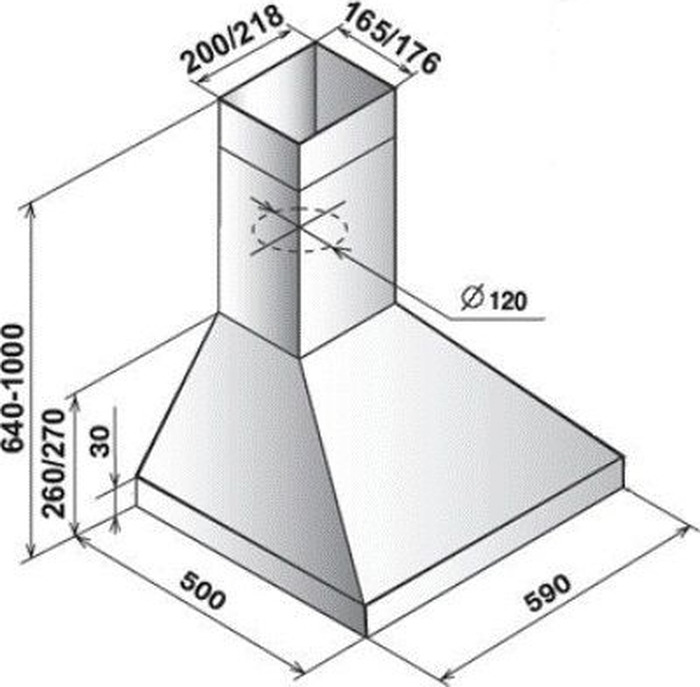 Встраиваемая вытяжка Elikor Вента 60Н-430-П3Л, серебристый Elikor