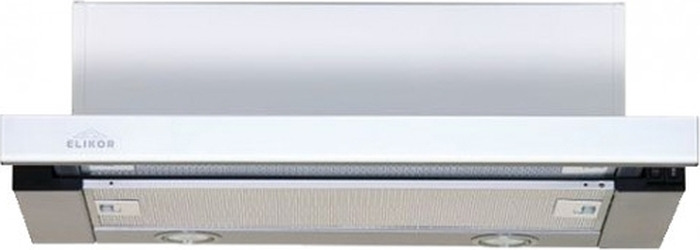 Встраиваемая вытяжка Elikor Интегра Glass 60Н-400-В2Д, серебристый вытяжка elikor интегра glass 50 нерж сталь черное стекло