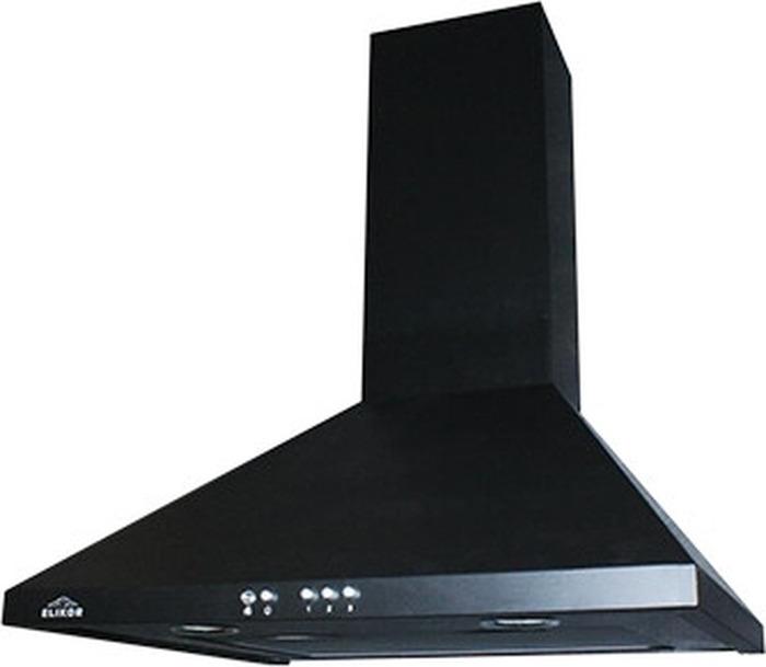 Встраиваемая вытяжка Elikor Вента 60П-650-К3Д, черный