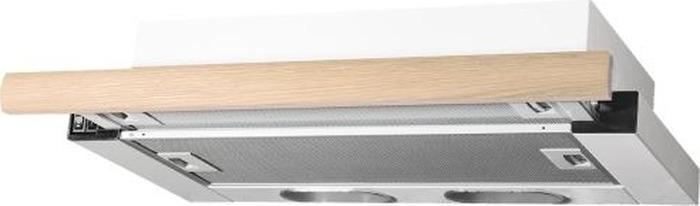 Встраиваемая вытяжка Elikor Интегра 50П-400-В2Л, белый/дуб неокр.