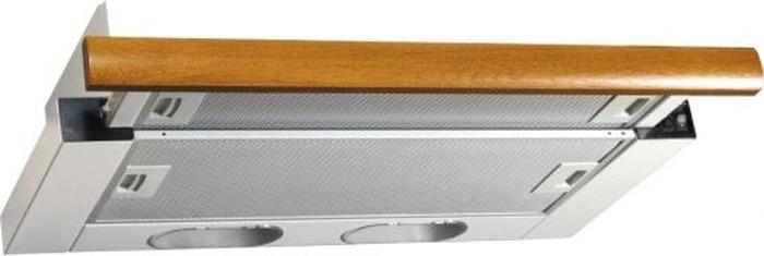 Фото - Встраиваемая вытяжка Elikor Интегра 60П-400-В2Л, белый встраиваемая вытяжка elikor интегра 50н 400 в2л белый дуб венге