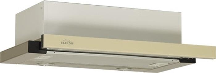 Встраиваемая вытяжка Elikor Интегра Glass 50Н-400-В2Д, серебристый