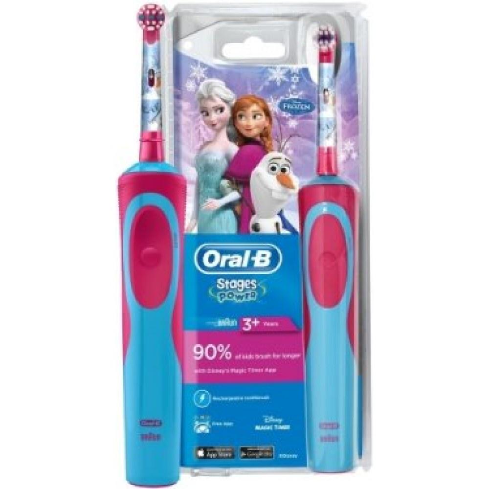 Детская электрическая зубная щетка Oral-B Stages Power Frozen Kids D12. 513 Oral-B