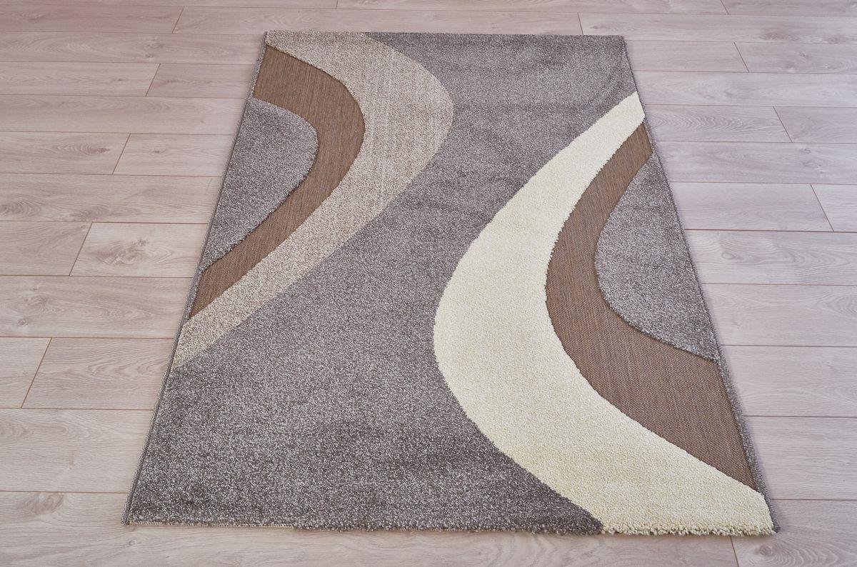 Ковер Oriental Weavers Леа, цвет: коричневый, 80 х 140 см. 14912 ковер oriental weavers леа цвет коричневый 120 х 180 см 14922