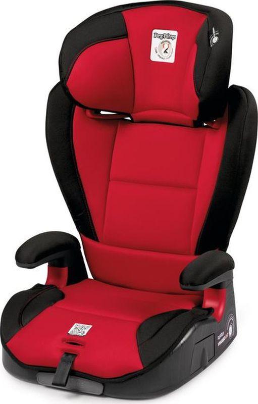 Автокресло Peg-Perego Viaggio 2/3 Surefix Rouge от 15 до 36 кг, IMVI010035DX13DX79, красный, черный автокресло peg perego viaggio 1 2 3 via urban denim