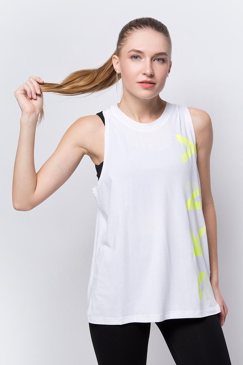 Топ DKNY топ женский dkny цвет белый желтый dp8t5717 wzt размер xs 40 42