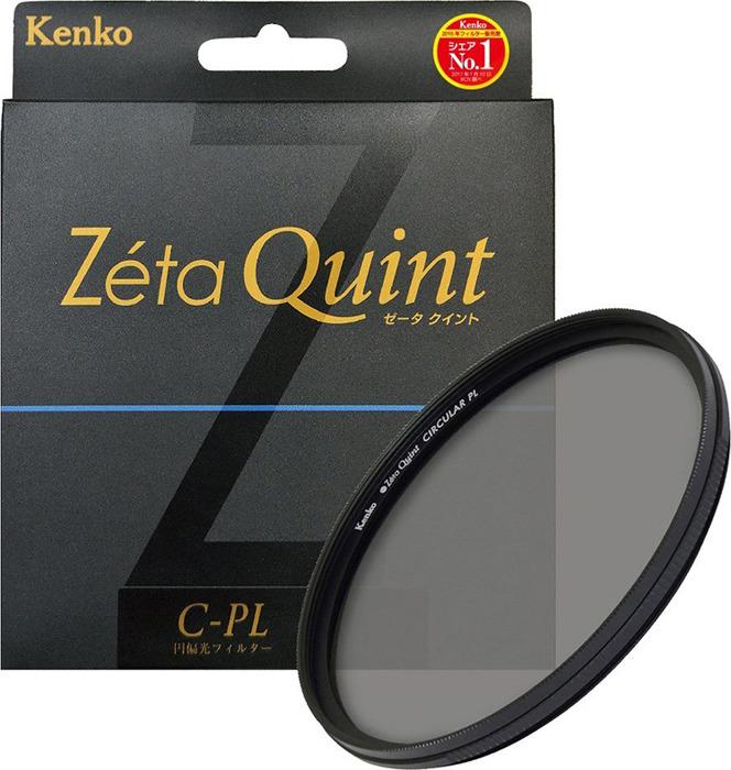 Светофильтр Kenko 77S Zeta Quint CPL, 727712, 77 мм, поляризационный